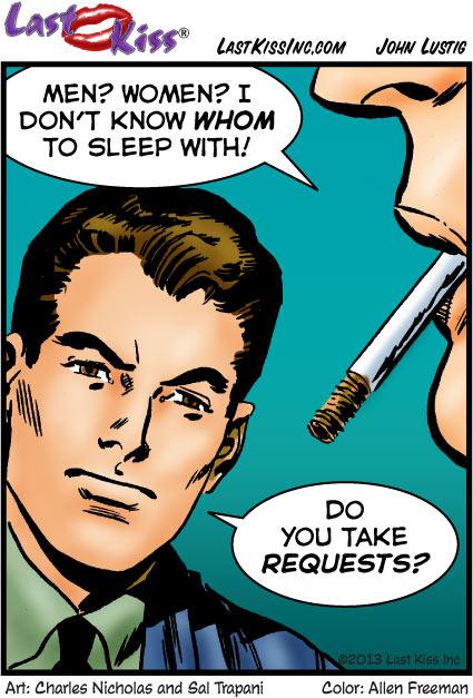 I Want to Sleep With…