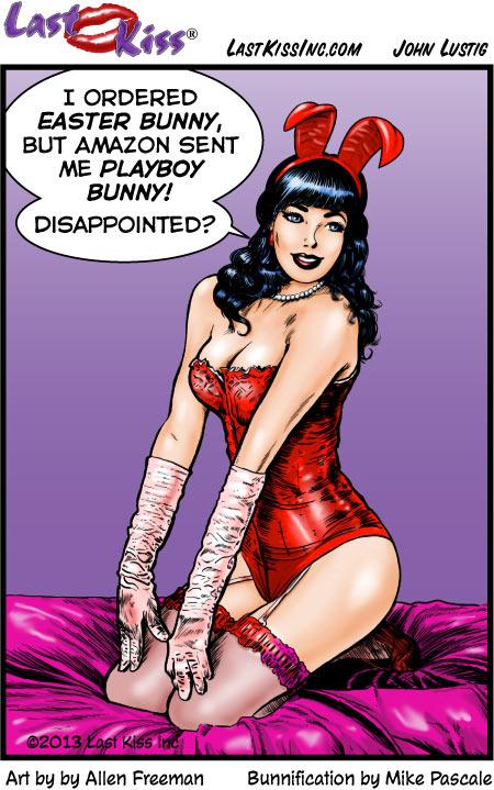 Easter Bunny Beware