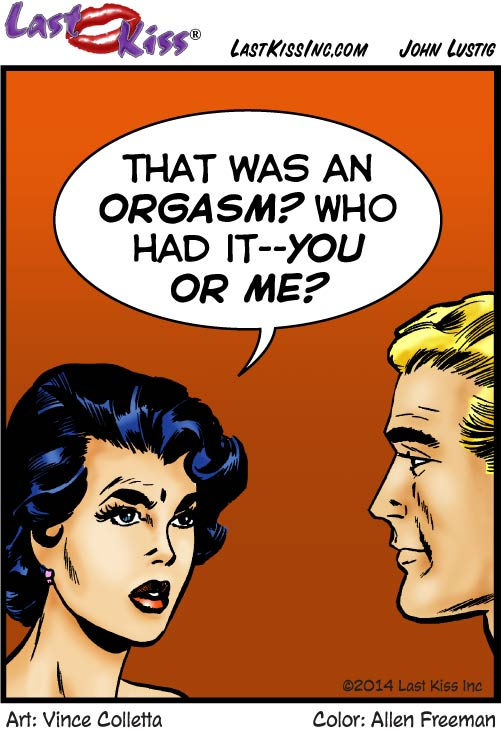 Orgasm? Really?