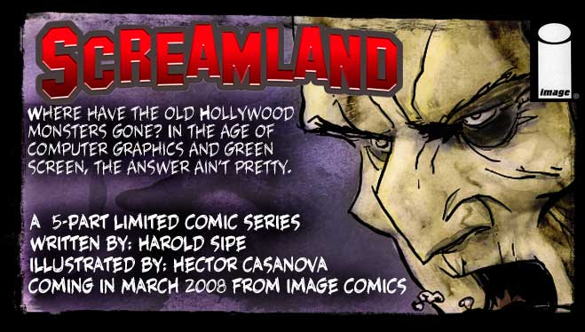 Screamland ©Harold Sipe and Jason Casanova