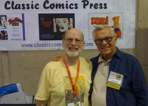Me and Leonard Starr.