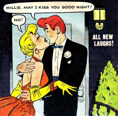 From Millie the Model #60 cover by Dan DeCarlo