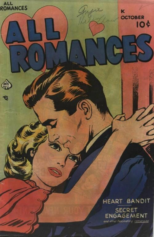 Art: Alice Kirkpatrick?         From All Romances #2, 1949.
