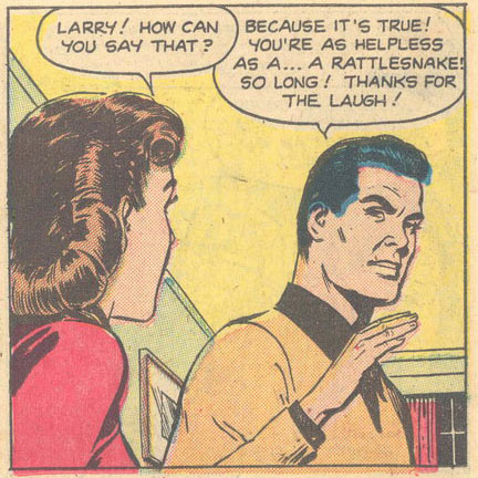 Art by Nick Cardy from My Real Love #5, 1952.