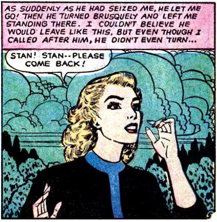 Art by Ken Rice originally appeared in Ten-Story Love #204, 1955.