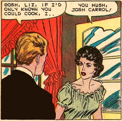 Art by Vince Colletta from First Kiss #9, 1959.