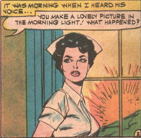 Original art by Vince Colletta from Teen Secret Diary #2, 1959.
