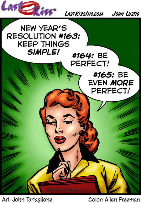 New Year's Resolution #163