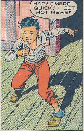 Art by Reed Crandall from Smash #25, 1941.