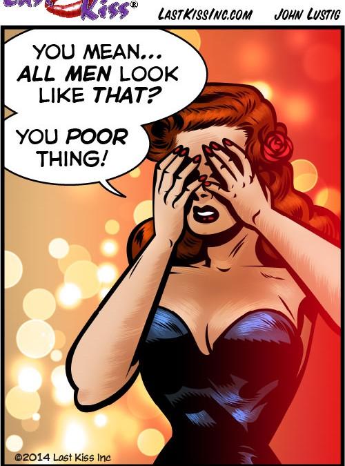 Men? Gross!