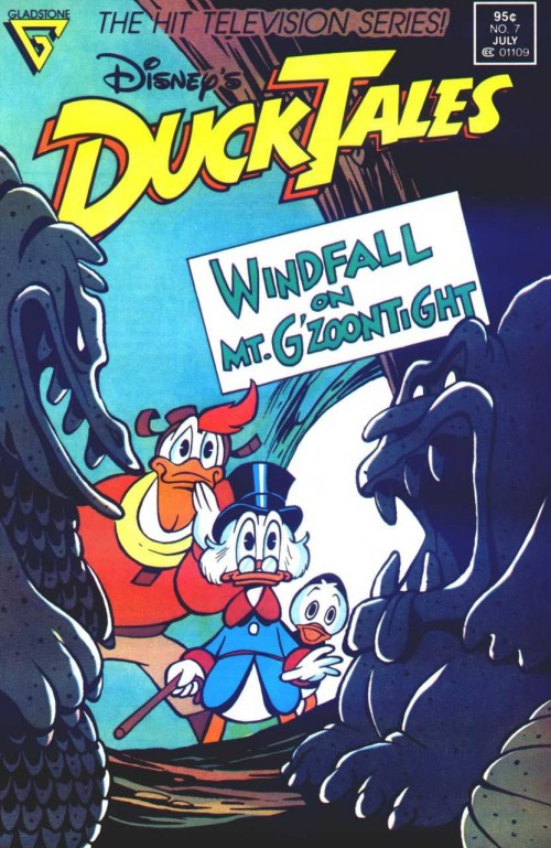 DuckTales #7. One of the first comics I worked on with William Van Horn.