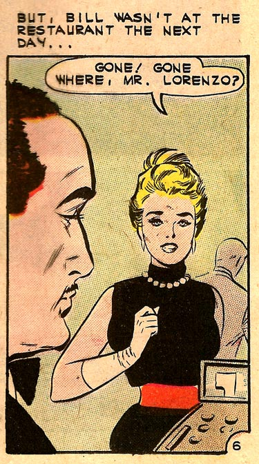 Art by Vince Colletta Studio from First Kiss #24, 1962.