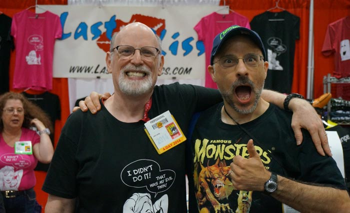 Mike Pascale (the genius behind most of the Last Kiss zombie comics) learns that I'm raising his rate a full penny per gag.