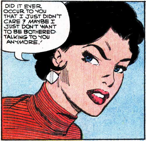 """Pencils by Dick Giordano from the story """"Letter from Long Ago"""" in FIRST KISS #6, 1958."""