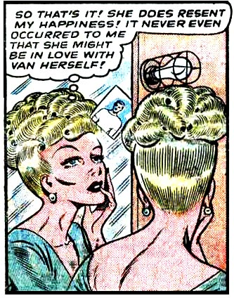 Art by Bill Ward from Diary Loves #2, 1949.