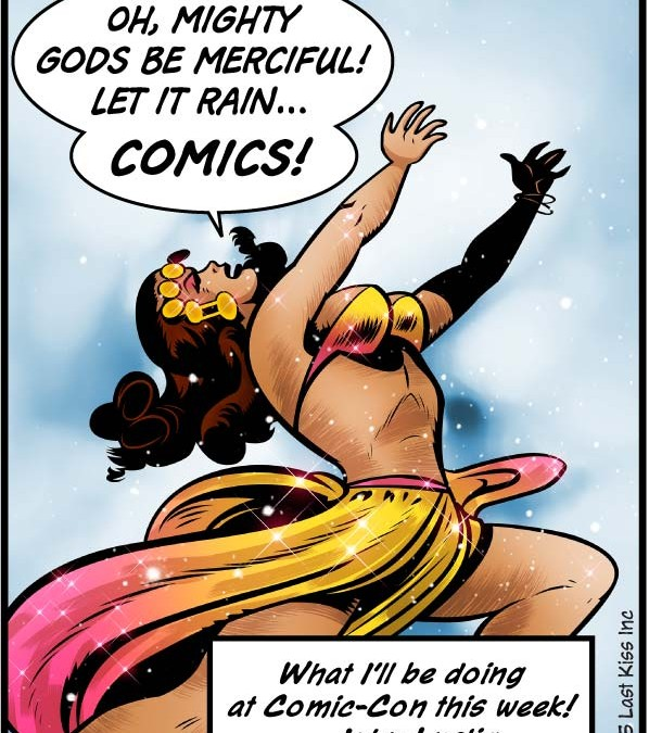 Cloudy with a Chance of Comics