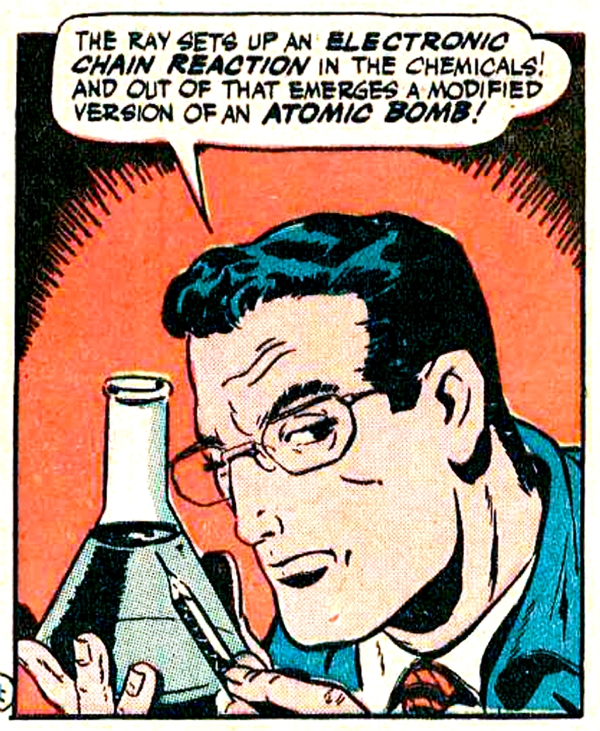 Art by Mike Suchorsky in AMERICA'S BEST COMICS #20, 1946.