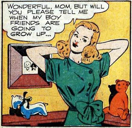 Artist unknown. Appeared in AMERICA'S BEST COMICS #28, 1948.