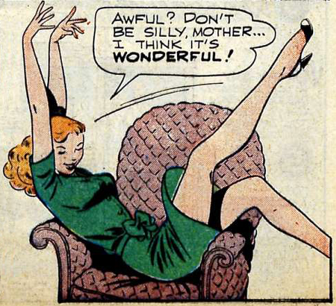 Artist unknown. From AMERICA'S BEST COMICS #28, 1948.