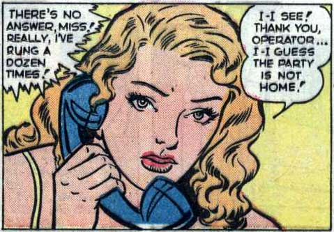 "Artist unknown. From the story ""Heartless"" in NEW ROMANCES #9, 1952."