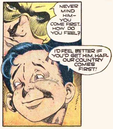 Art by Lou Fine from SMASH #30, 1942.