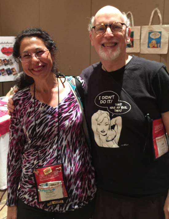 It was great to reconnect with Susan Smelser (owner of The Book Worm in Powder Springs, GA.) Shelagh and I met Susan at the RT convention in New Orleans two years ago.