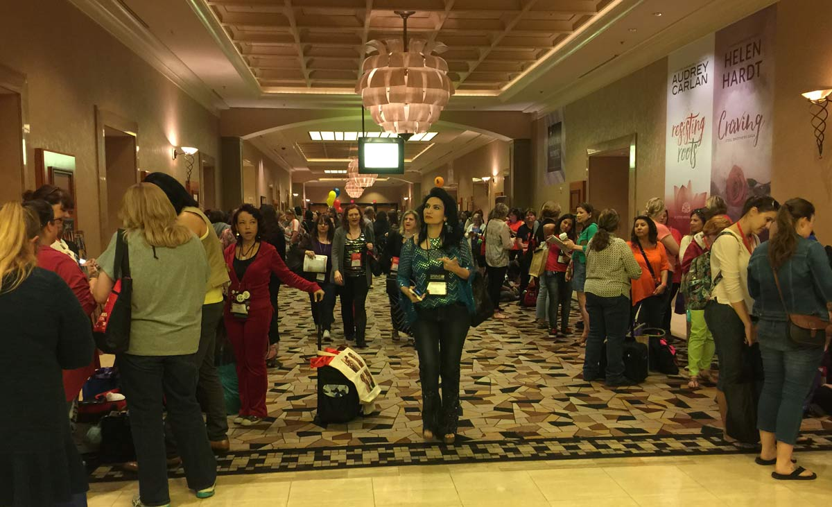 A few of the 2,000 or so women seeking romance (novels) at the RT Booklovers convention in Las Vegas.