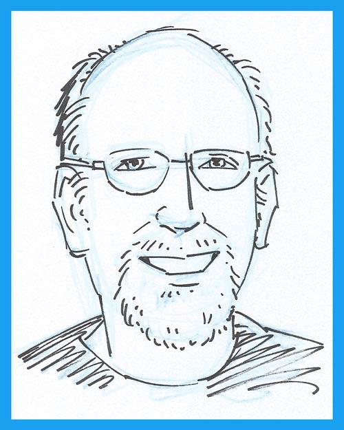 John Lustig (Scetch by Carol Lay.)
