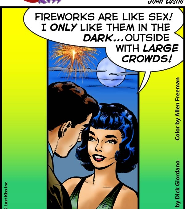 Fireworks Are Like Sex