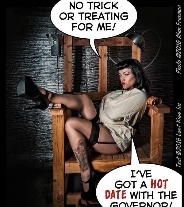 Hot Halloween Date