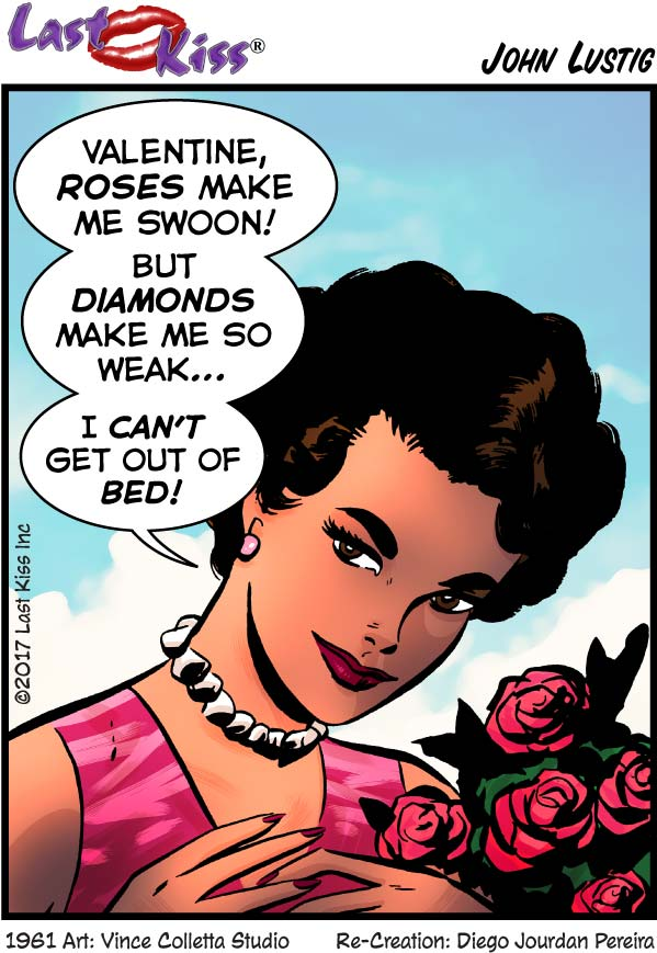 Roses Make Me Swoon, But…