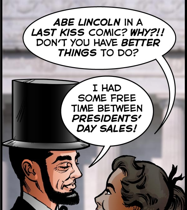 Abe Lincoln's Last Kiss