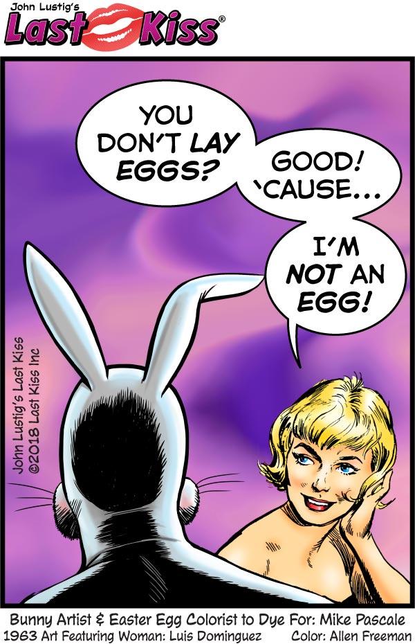 Easter Egg Lay? No Way!