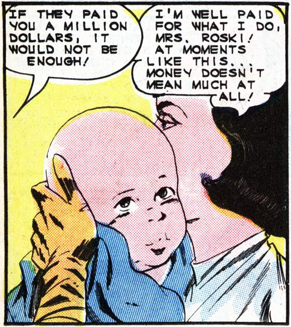 The vintage comic art that today's Last Kiss used as a basis.