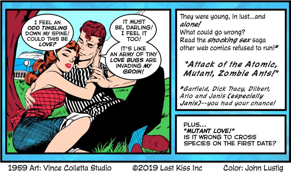 Comics Last Kiss