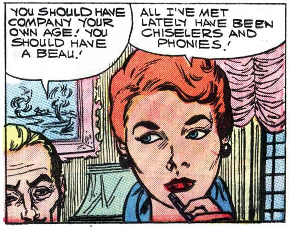 FIRST KISS #5, 1958.