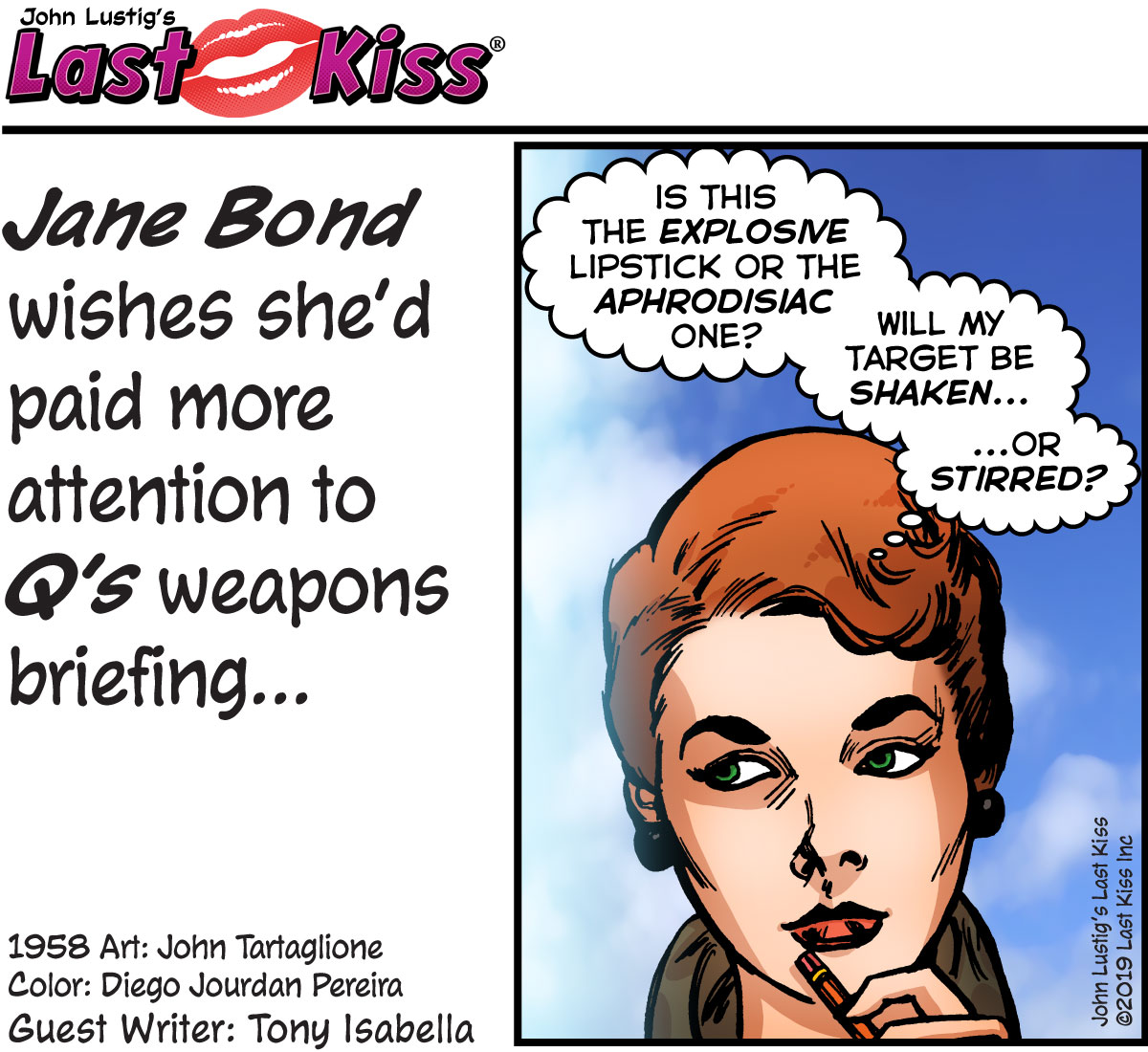 Today's Comic: Jane Bond