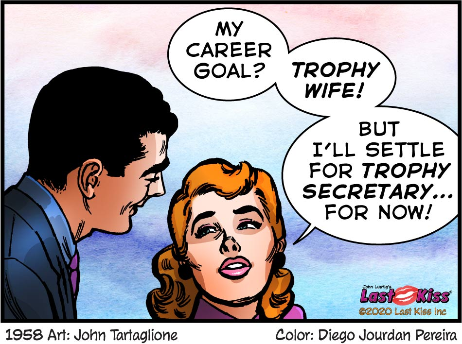Apprentice Trophy Wife Comic