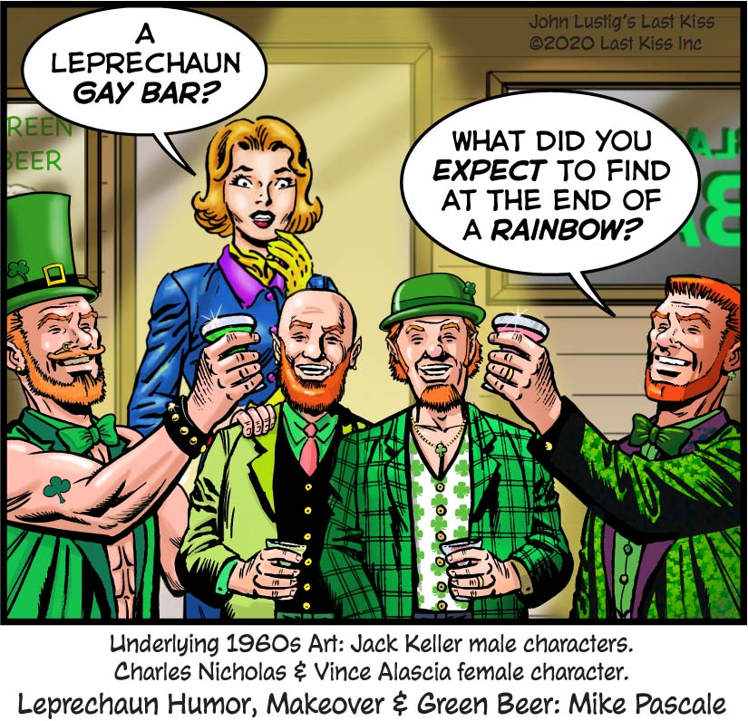 St. Patrick's Day Bar image