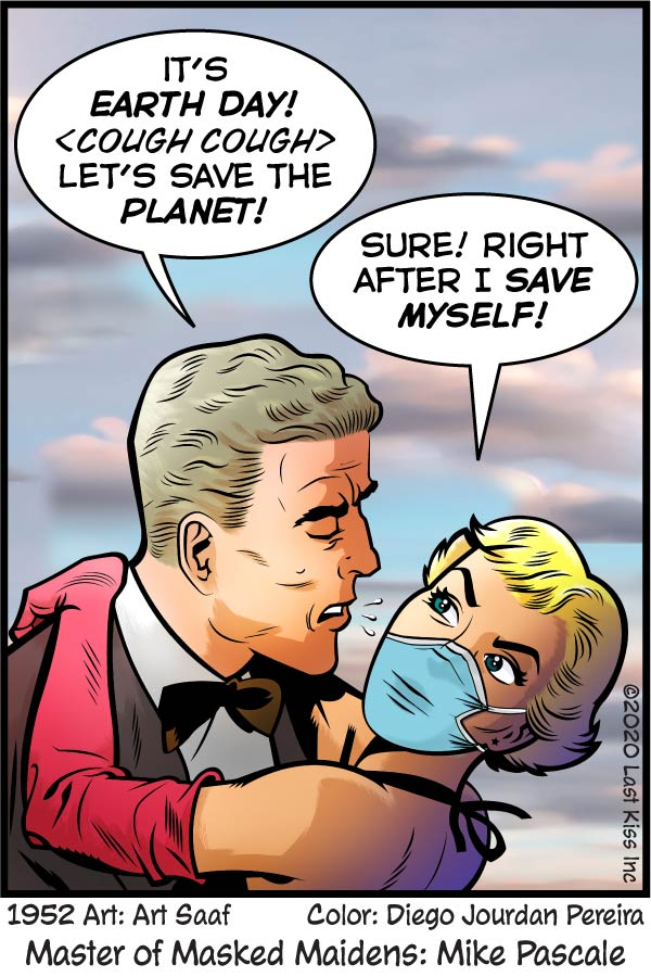 Last Kiss Comic