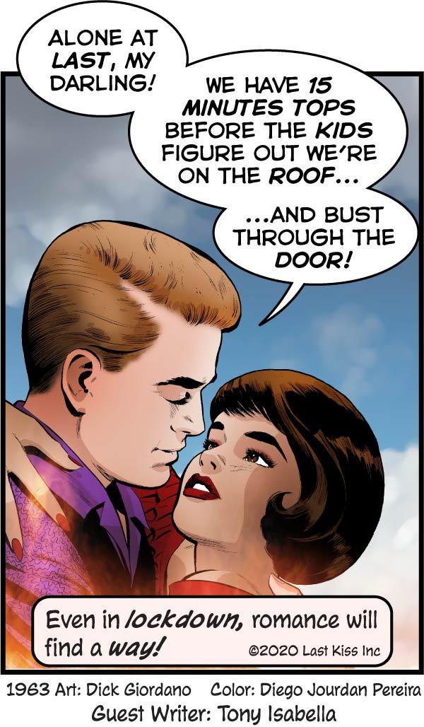 Last Kiss Comic for April 26 2020