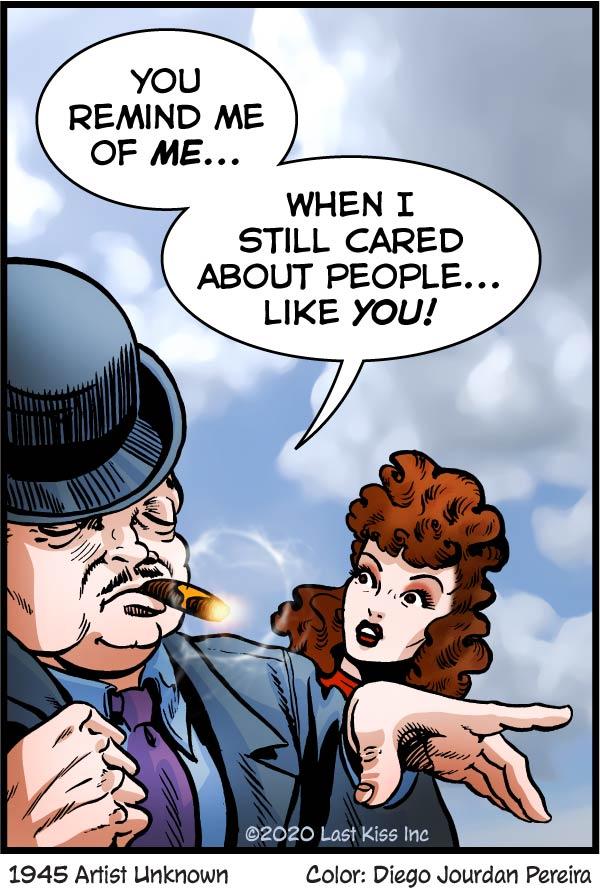 Today's Last Kiss comic